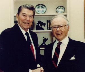 Kirk andRonald Reagan
