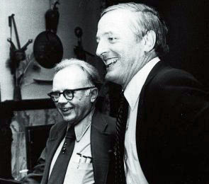 Kirk and William F. Buckley, Jr.