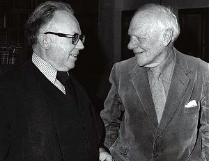 Kirk and Malcolm Muggeridge