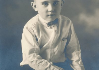 Russell Kirk as a boy.