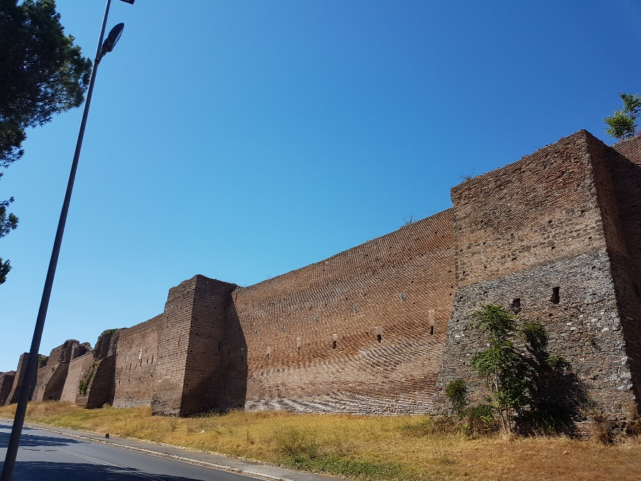 Aurelian Wall, Rome, Photo by Eduard Habsburg