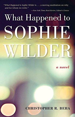 Beha's Capacity for God: Sophie Wilder Revisited